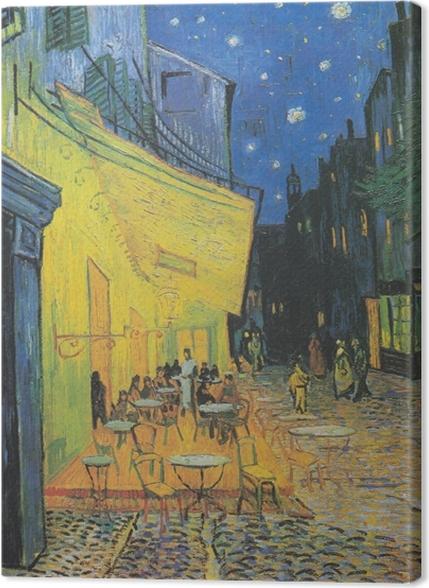 Obrazy premium Vincent van Gogh - Taras kawiarni w nocy - Reproductions