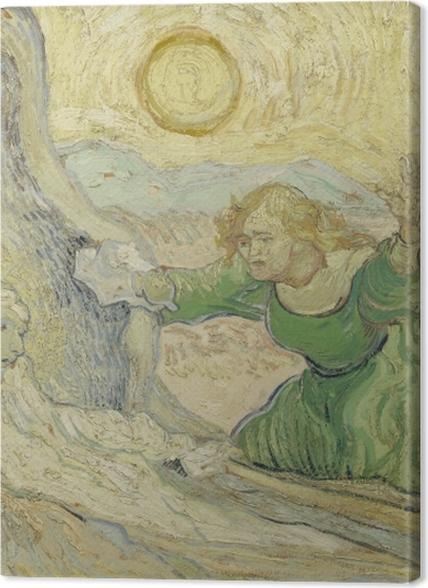 Obrazy premium Vincent van Gogh - Wskrzeszenie Łazarza - Reproductions