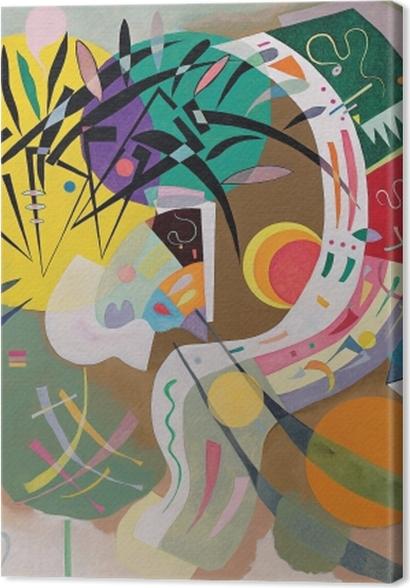 Obrazy premium Wassily Kandinsky - Krzywa dominująca - Reprodukcje
