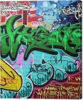 Obrazy premium Wektor tła sztuki grafitti. mur miejski