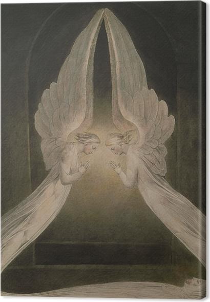 Obrazy premium William Blake - Chrystus złożony do grobu - Reprodukcje