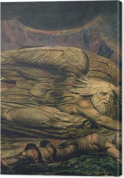 Obrazy premium William Blake - Elochim stwarzający Adama - Reprodukcje
