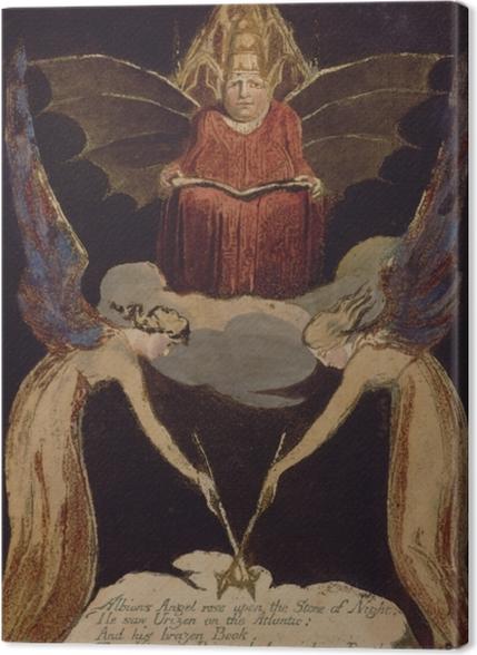 Obrazy premium William Blake - Jerozolima - Reprodukcje