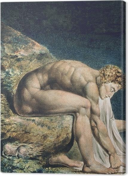 Obrazy premium William Blake - Newton - Reprodukcje