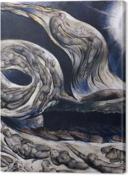 Obrazy premium William Blake - Wir kochanków - Reprodukcje