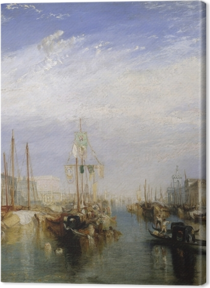Obrazy premium William Turner - Canal Grande - Reprodukcje