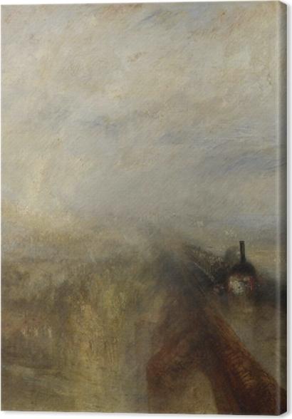 Obrazy premium William Turner - Deszcz, para, szybkość - Reprodukcje