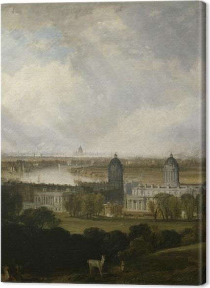 Obrazy premium William Turner - Londyn - Reprodukcje