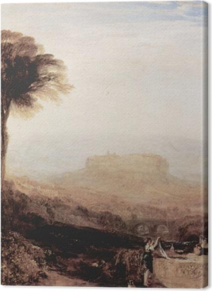 Obrazy premium William Turner - Widok Orvieto namalowany w Rzymie - Reprodukcje