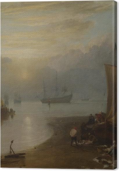 Obrazy premium William Turner - Wschód słońca we mgle - Reprodukcje