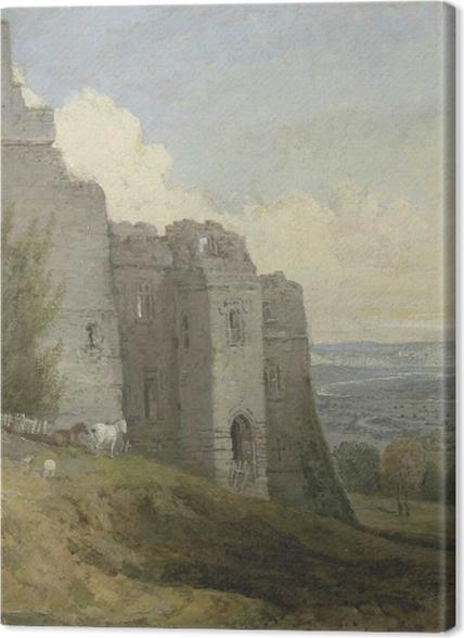 Obrazy premium William Turner - Zamek Conway - Reprodukcje