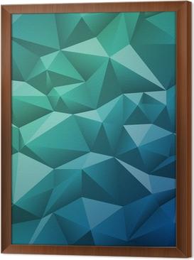 Obraz na płótnie w ramie Abstrakcyjne geometryczne tle