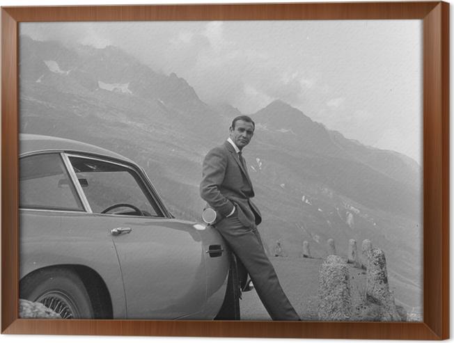 Obraz na płótnie w ramie James Bond - Tematy