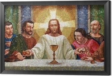 Obraz na płótnie w ramie Religia