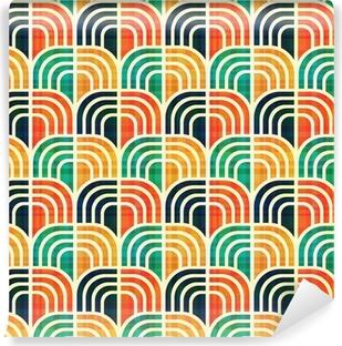 Omyvatelná Fototapeta Bezešvé geometrický vzor.