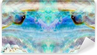 Omyvatelná Fototapeta Lesklé perleti z Paua nebo Abalone shell pozadí