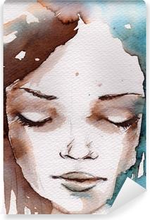 Omyvatelná Fototapeta Zima, zima portrét