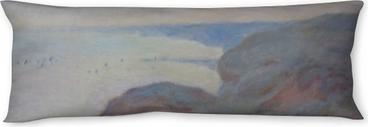 Oreiller de corps Claude Monet - Falaises près de Dieppe