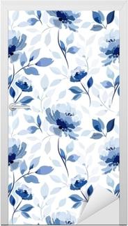 Malli sininen kukka ruusu Ovitarra