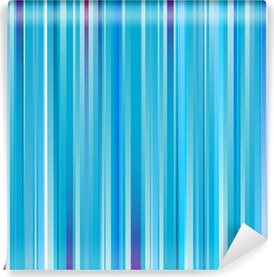 Papier peint vinyle Abscract rayé bleu fond