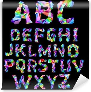 Alphabet Psychédélique poster alphabet psychédélique • pixers® - nous vivons pour changer