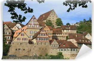 Papier peint vinyle Altstadt von Schwäbisch Hall an der Kocher - Deutschland