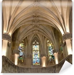 Papier peint vinyle Amboise castle.Chapel où Leonardo da Vinci est enterré.