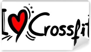 Papier peint vinyle Amour Crossfit