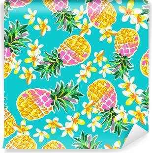 Papier peint vinyle Ananas mignons rétrécit