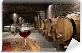 Papier peint vinyle Ancienne cave à vin