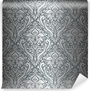 Papier peint vinyle Argent papier peint vintage de luxe
