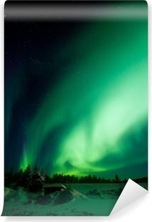 Papier peint vinyle Aurora Borealis (Northern Lights)