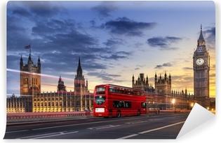 Papier Peint Autocollant Abbaye de Westminster Big Ben à Londres