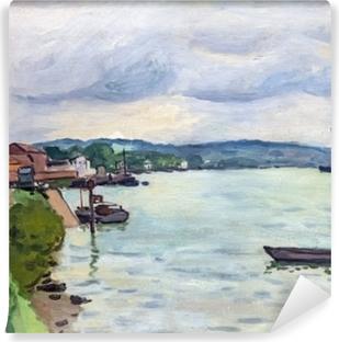 Papier peint autocollant Albert Marquet - La seine (environs de Rouen)
