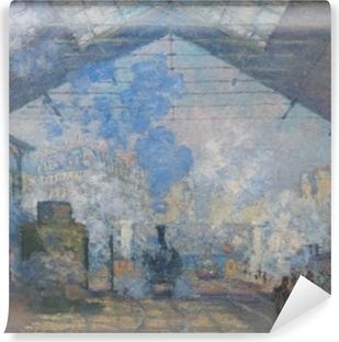Papier peint autocollant Claude Monet - La Gare Saint-Lazare