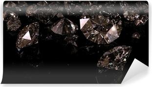 Papier Peint Autocollant Diamants noirs