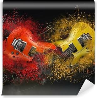 Papier Peint Autocollant Electric guitar