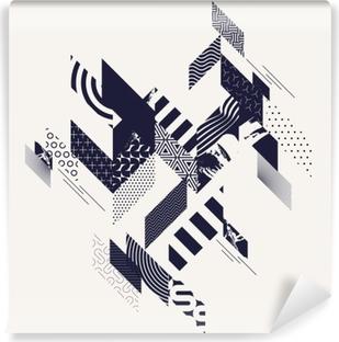 Papier peint autocollant Fond géométrique moderne abstrait