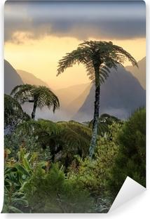 Papier Peint Autocollant Fougères arborescentes, La Réunion.