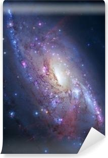 Papier Peint Autocollant Galaxie spirale dans l'espace profond. Éléments de l'image fournie par la NASA
