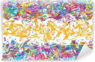 Papier Peint Autocollant Graffiti abstrait
