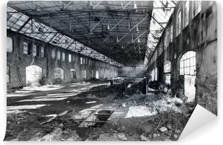 Papier Peint Autocollant Hall de l'usine abandonnée