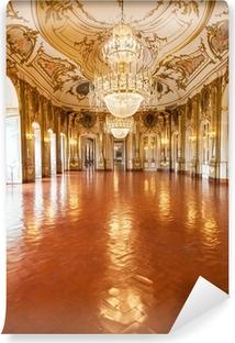 Papier Peint Autocollant La salle de bal du Palais national de Queluz, Portugal