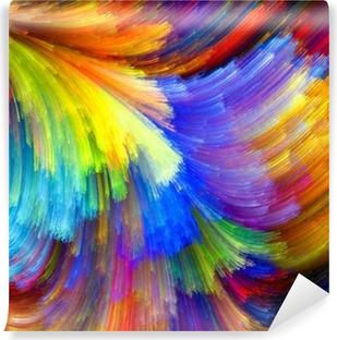 Papier Peint Autocollant La texture colorée