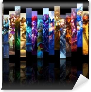 Papier peint autocollant League of Legends