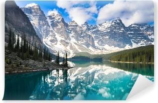Papier Peint Autocollant Moraine Lake, Rocky Mountains, Canada