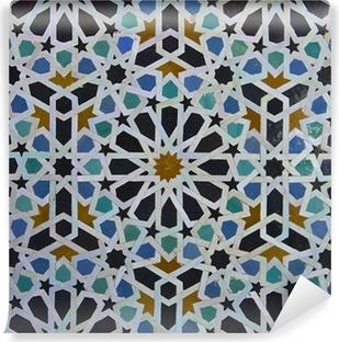 Papier Peint Autocollant Motif de tuile zellige marocain