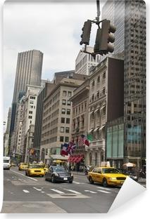 Papier peint autocollant New york avec taxi