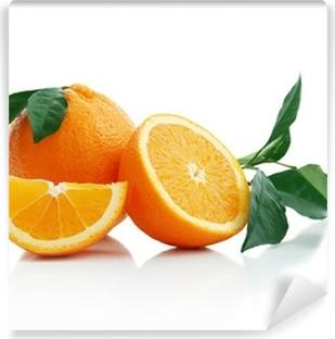 Papier Peint Autocollant Orange