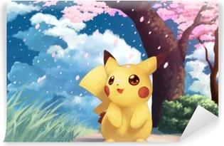 Papier Peint Autocollant Pikachu